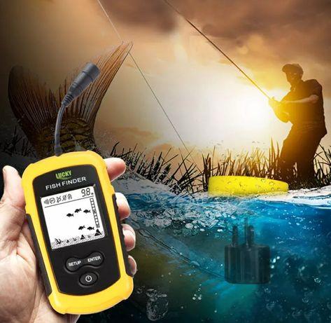Aparelho Pesca para localizar peixes até 100m profundidade (Novo)