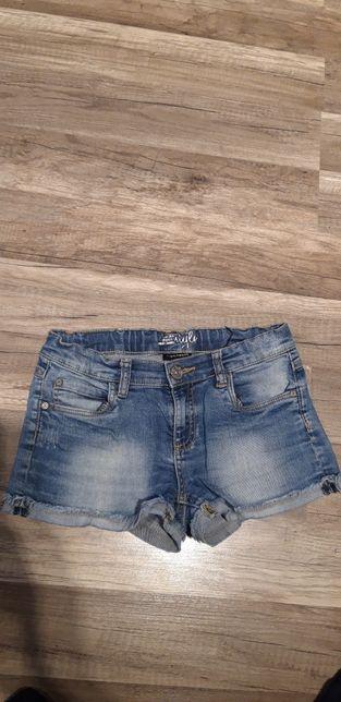Spodenki miękki jeans KappaAhl 146