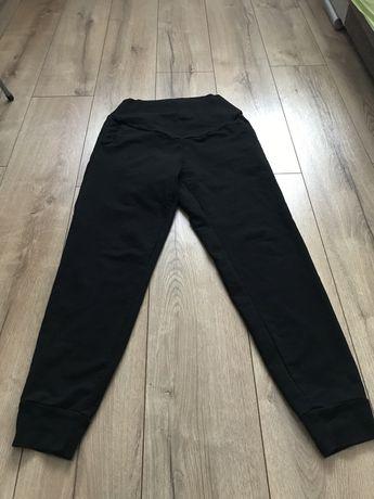 Spodnie dresowe ciążowe rozmiar S 36 HM Mama czarne ściągacze