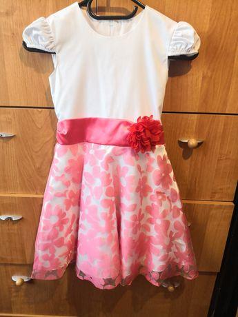 Śliczna sukienka 6-8 lat