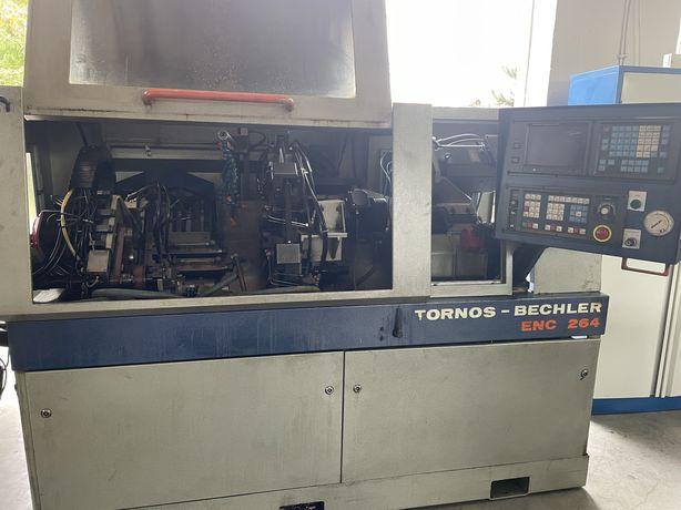 Automat wzdłużny typu szwajcarskiego Tornos Bechler ENC 264 tokarka