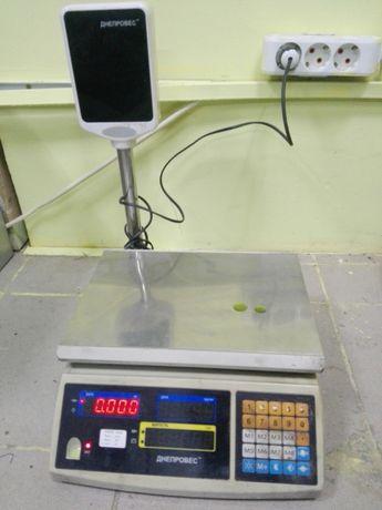 Электронные весы Днепровес F902H-15ED