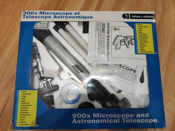 Teleskop i mikroskop