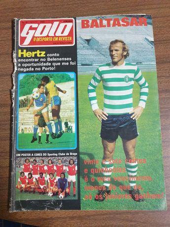 Revista antiga desportiva  Golo