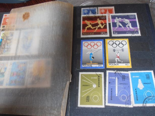 Znaczki pocztowe 1951/1965