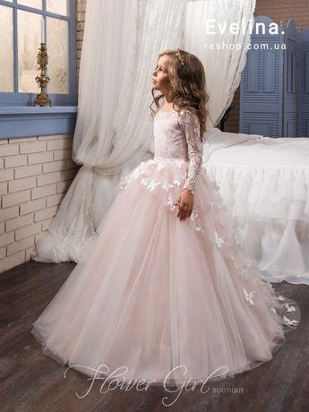 Бальное платье для девочки Мая, нарядные детские платья в пол купить