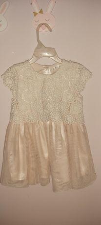 Śliczna sukienka roz 98