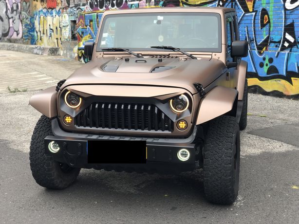 Jeep Wrangler ATX JKU Longo Unlimited automático - urgente