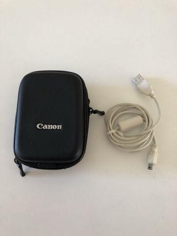 оригинальный твердый чехол для фотоаппарата Canon и USB