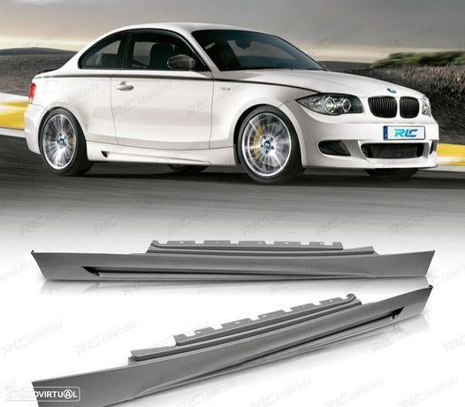 EMBALADEIRAS LATERAIS BMW SERIE 1E81 E82 E88 06-13 LOOK M PERFORMANCE