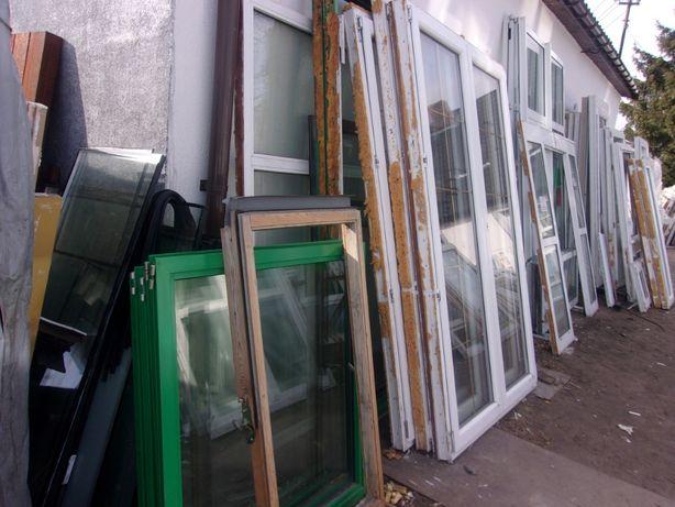 Okna drzwi tarasowe pvc po rozbiórkowe używane mega skład