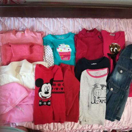 Пакет вещей на девочку 3-4 года.
