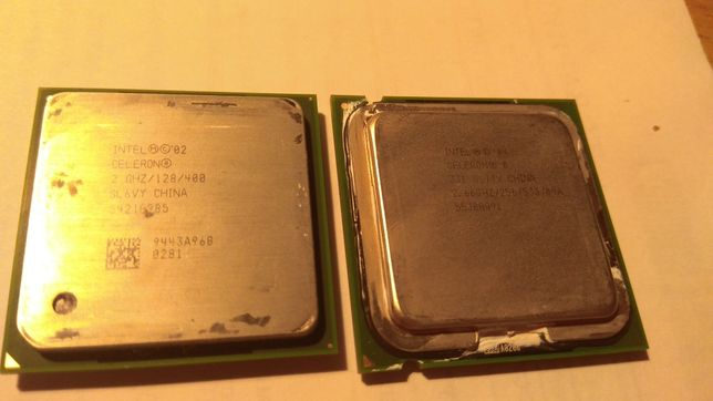 Два процессора Intel Celeron
