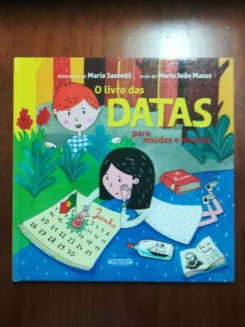 Livro - O Livro das Datas