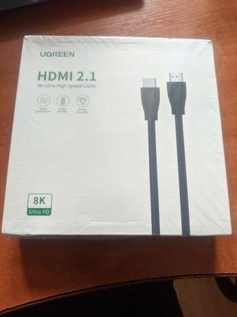 Ugreen HD140 HDMI 2.1 кабель 8К 3D 48Gbps HDR длина 3 метра
