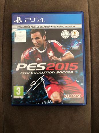 Gra PS4 Pro Evolution Soccer 2015 NIE UŻYWANA