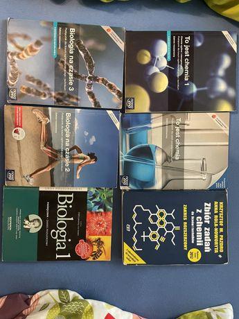 Książki do matury z chemii i biologii