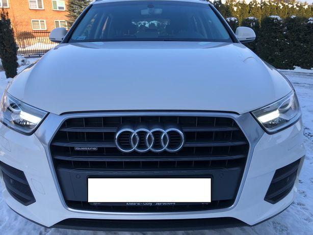 Audi Q3 SALON POLSKA 2.0 TFSI Quattro 180 KM-S tronic 4X4 STAN IDEALNY