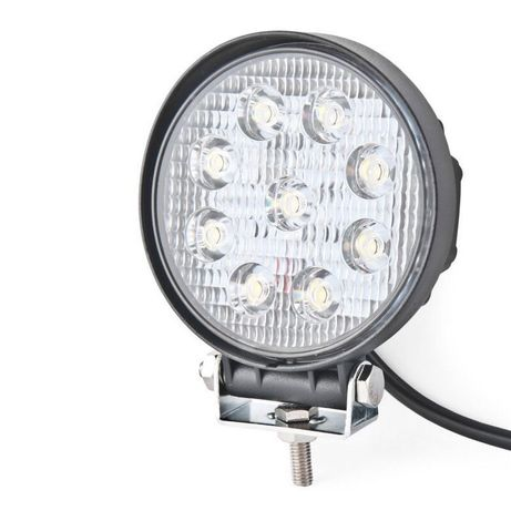 Светодиодная лед фара Фары LED 9 лампочек мтз юмз Нива дон