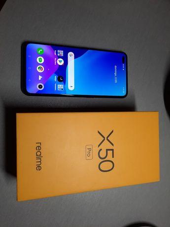 Realme X50 Pro 5G  128 GB como novo aceito troca / carregador: 60W