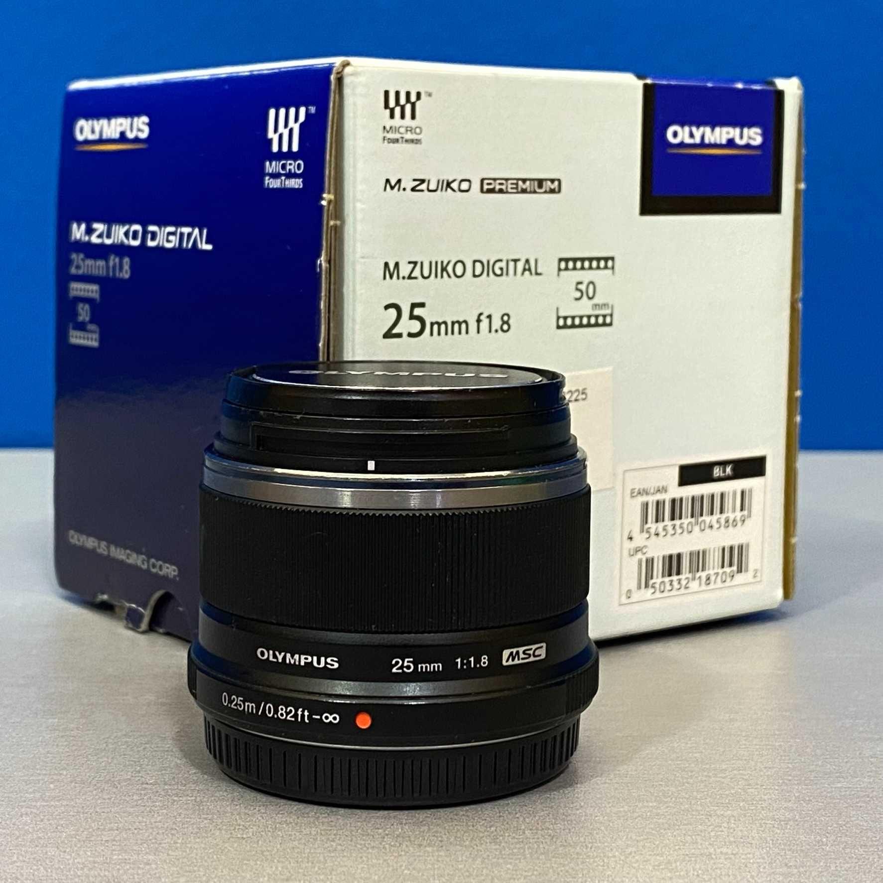 Olympus M.Zuiko Digital 25mm f/1.8 MSC