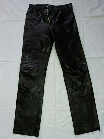 Spodnie skórzane / rockowe / metalowe