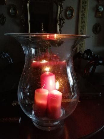 Świecznik lampion dekoracyjny nowy duży