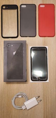 iPhone 8 64GB Space Grey + dodatki