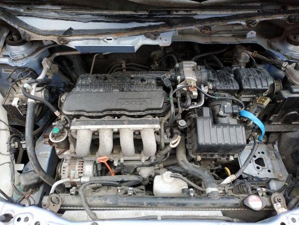 Мотор L15A7, АКПП M5PA Honda Fit 1.5 09-13