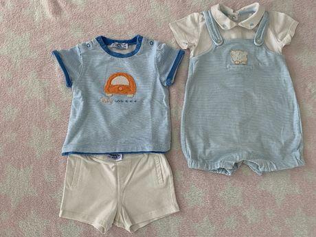 Komplet z krótkimi spodniami na lato dla chłopca Mayoral 4-6 msc.