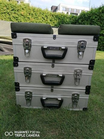 Wędkarski kufer - połączone 3 walizy/zamknięcie wyprzedaży