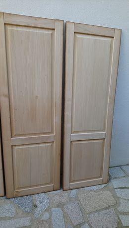 12 Portas madeira de castanho, tipo porta de roupeiro