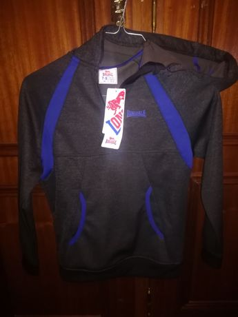 Sweat-shirt - polar Lonsdale 7-8 anos