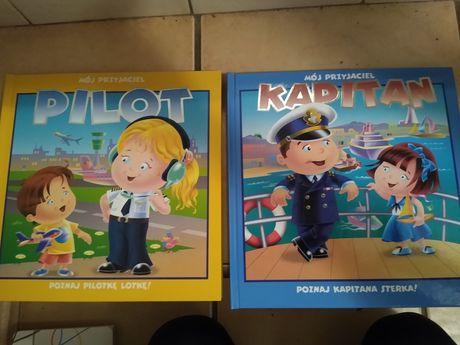 Książeczki Pilot Kapitan interaktywne