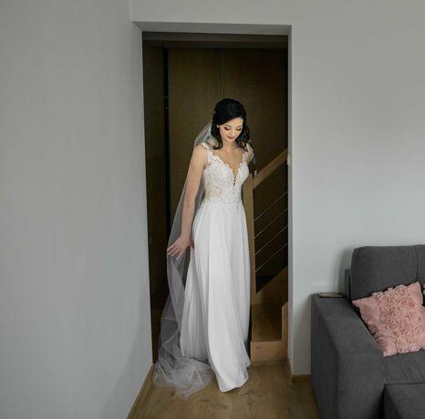Suknia Ślubna V36