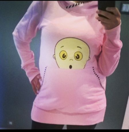 Bluza Sweter ciążowy rozm. M/L stan idealny
