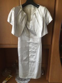 Elegancki komplet sukienka + marynarka