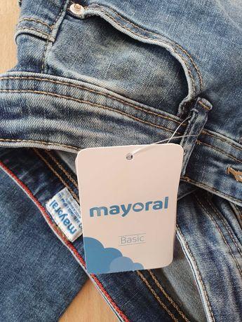 Spodnie dzinsowe Mayoral rozm. 140