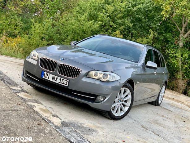 BMW Seria 5 F11 520D 184KM ORYGINAŁ Jak NOWY Skóra Alu18 Navi Panorama OPŁACONY DE