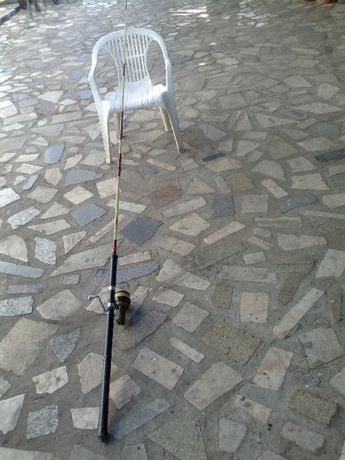 vendo cana de pesca in fibra de vidro