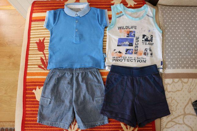 Летний костюм майка и шорты Смил размер 1-1,5 года