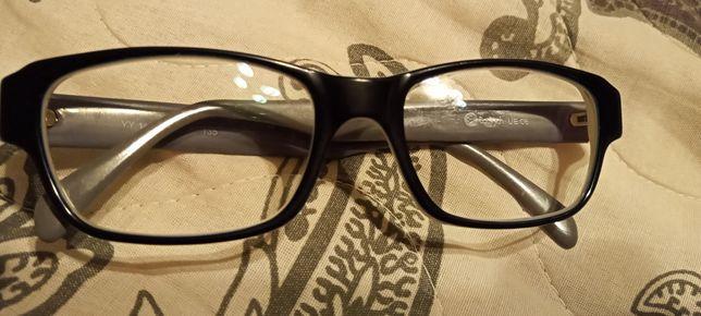 Oprawki okularowe damskie czarne