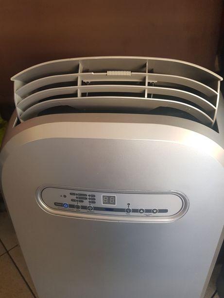 Klimatyzator przenośny srebrny mocny 3.5 KW Klima