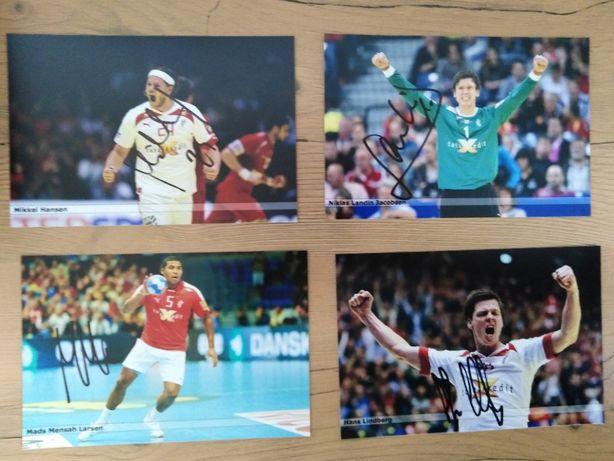 Autografy! Piłka ręczna! Reprezentacja Danii!