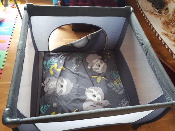 Kojec łóżeczko turystyczne baby desingn grey
