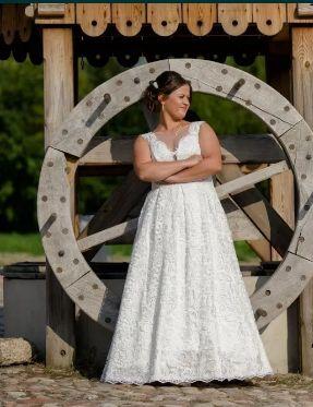Suknia Ślubna gipiura