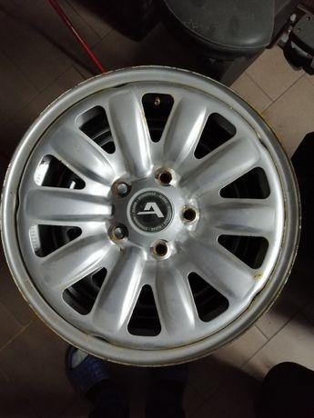 Alcar felgi 15 cali stalowe hybrydy 5x112 vw Skoda Audi seat mercedes