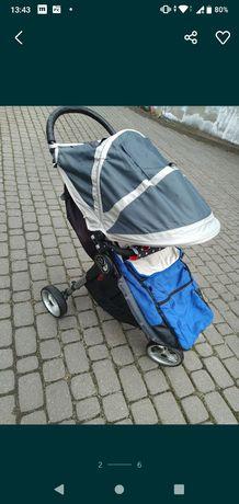 Wózek Baby jogger city mini 3 + dodatki