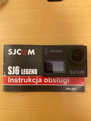 SJCAM SJ6 Legend zestaw tylko do poniedziałku 450!!