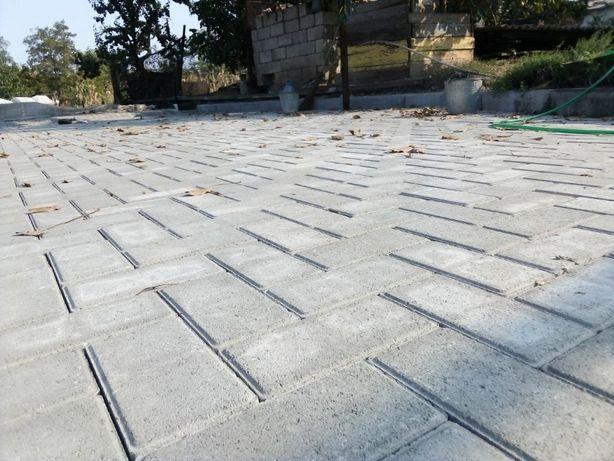 Укладка тротуарной плитки благоустройство